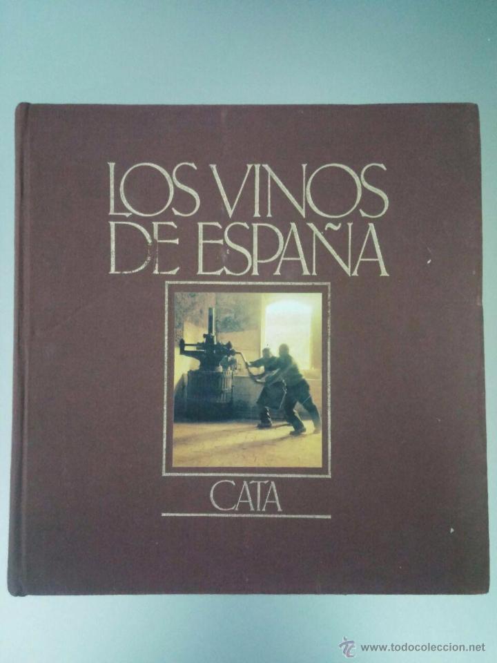 Libros de segunda mano: LOS VINOS DE ESPAÑA - CATA - EDICIONES CASTELL - 1984 - 27 X 26 - 342 p - CON ILUSTRACIONES A COLOR - Foto 4 - 53888644