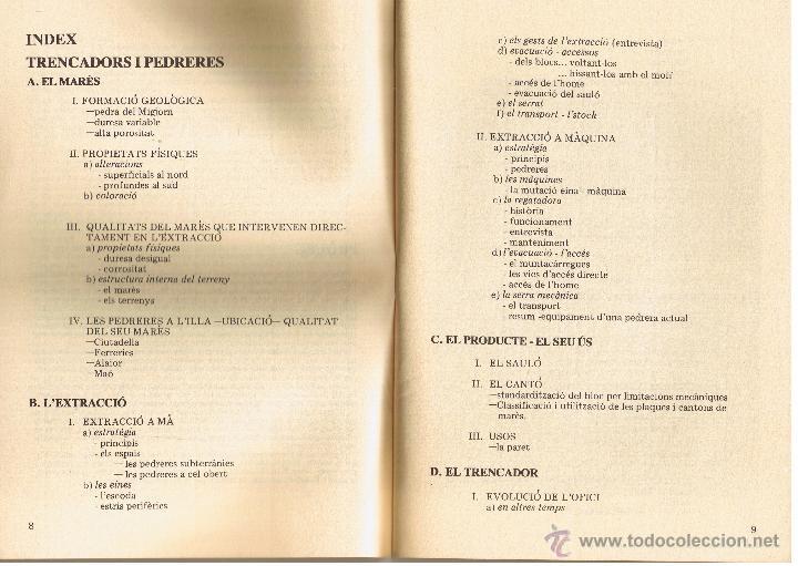 Libros de segunda mano: QUADERNS DE FOLKLORE Nº 22 - 23 - PEDRERES I TRENCADORS - LAETITIA I XAVIER SAULEAU - CATALAN - Foto 3 - 53987411
