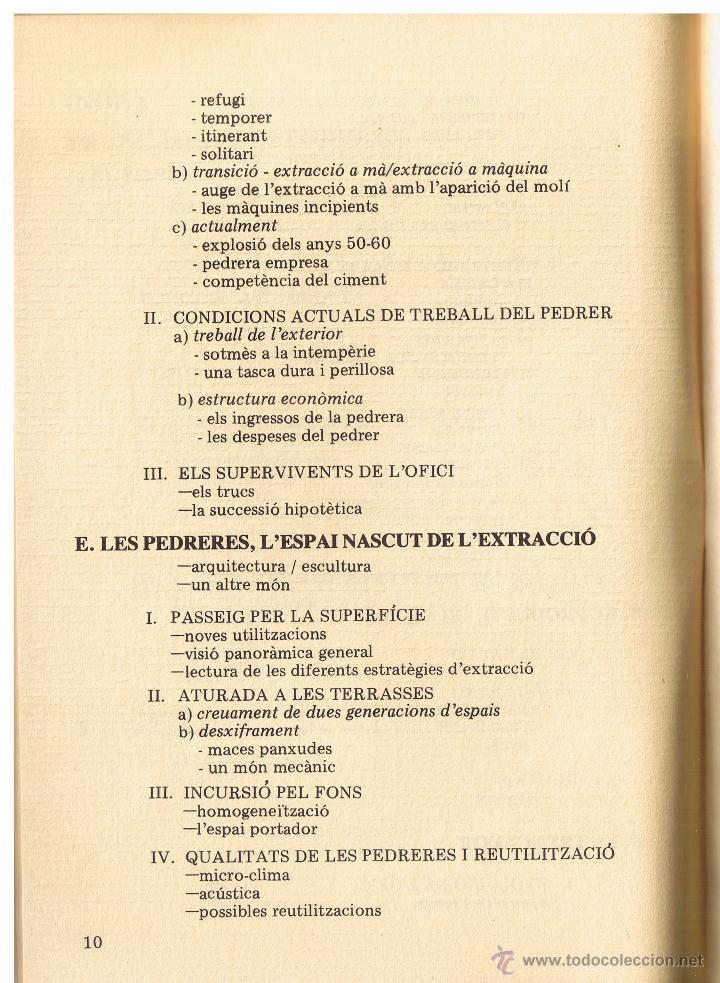 Libros de segunda mano: QUADERNS DE FOLKLORE Nº 22 - 23 - PEDRERES I TRENCADORS - LAETITIA I XAVIER SAULEAU - CATALAN - Foto 4 - 53987411