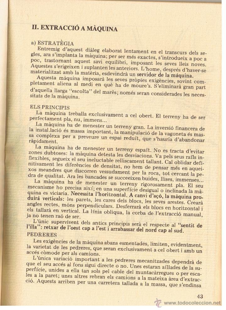 Libros de segunda mano: QUADERNS DE FOLKLORE Nº 22 - 23 - PEDRERES I TRENCADORS - LAETITIA I XAVIER SAULEAU - CATALAN - Foto 8 - 53987411