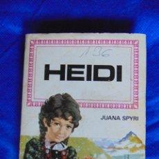Libros de segunda mano: HEIDI - JUANA SPYRI. Lote 54002817