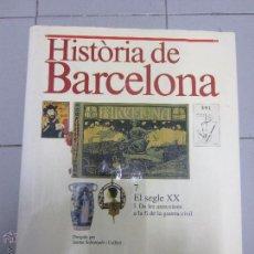 Libros de segunda mano: HISTORIA DE BARCELONA 7 TOMOS . Lote 54045955