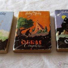Libros de segunda mano: GABRIEL Y GALAN, OBRAS COMPLETAS , AFRODISIO AGUADO S.A.. Lote 54051674