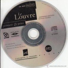 Libros de segunda mano: CD-ROM. LE LOUVRE. PEINTURES & PALAIS ( EN FRANCÉS). Lote 54056756