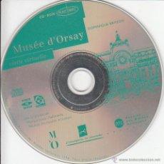 Libros de segunda mano: CD-ROM. MUSÉE D'ORSAY VISITE VIRTUELLE ( EN FRANCÉS). Lote 54056799