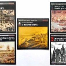 Libros de segunda mano: LOTE DE 5 MONOGRAFÍAS COLECCIÓN HISTORIA DEL MUNDO PARA JÓVENES // EDICIONES AKAL. Lote 54057936