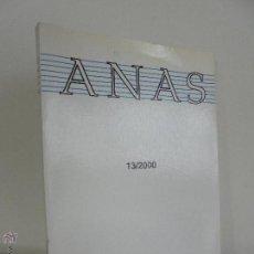Libros de segunda mano: ANAS 13/2000. MUSEO NACIONAL DE ARTE ROMANO. MERIDA. VER FOTOGRAFIAS ADJUNTAS.. Lote 54097710