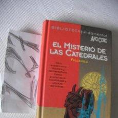 Libros de segunda mano: EL MISTERIO DE LAS CATEDRALES - FULCANELLI. Lote 54102908