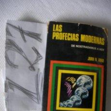 Libros de segunda mano: LAS PROFECIAS MODERNAS - DE NOSTRADAMUS A HOY - JUAN ABAD. Lote 54102931