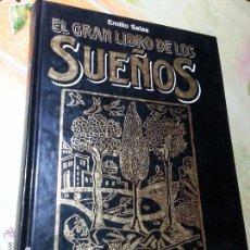 Libros de segunda mano: EL GRAN LIBRO DE LOS SUEÑOS - EMILIO SALAS - MARTINEZ ROCA, TAPA DURA. Lote 112656591