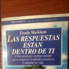 Libros de segunda mano: LAS RESPUESTAS ESTÁN DENTRO DE TI.. Lote 54160825