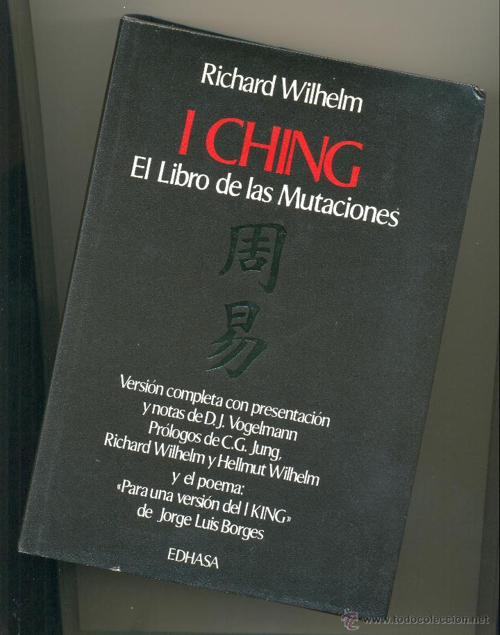 I Ching El Libro De Las Mutaciones Traduccion Sold Through