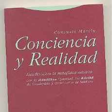 Libros de segunda mano: CONCIENCIA Y REALIDAD -CONSUELO MARTÍN- ENVÍO: 2,50 € *.. Lote 54181236