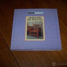 Libros de segunda mano: MOBILIARIO DEL SIGLO XIX. ESTILOS DEL ARTE. EDIMAT LIBROS 1999.. Lote 54184655