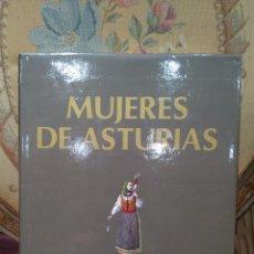 Libros de segunda mano: MUJERES DE ASTURIAS, DE VARIOS AUTORES. MASES EDICIONES, 1ª EDICION 1.988.. Lote 54192769