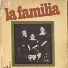 Libros de segunda mano: E. FROMM, M. HORKHEIMER, T. PARSONS Y OTROS : LA FAMILIA. INTRODUCCIÓN DE RALPH LINTON. (1977). Lote 54220950