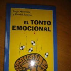 Libros de segunda mano: LIBRO EL TONTO EMOCIONAL. Lote 54229878
