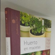 Libros de segunda mano: HUERTO EN MACETAS . Lote 54262074