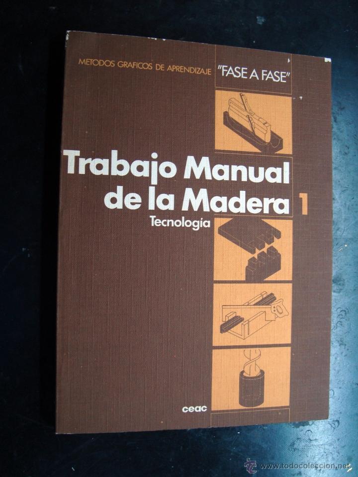Antiguo Libro Trabajo Manual De La Madera 1 Comprar En - Trabajos-manuales-en-madera