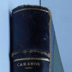 Libros de segunda mano: CARLOS V Y SUS BANQUEROS - AUTOR: RAMON CARANDE -. Lote 54301475