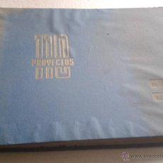 Libros de segunda mano: 110 PROYECTOS MUEBLES PARA TIENDAS EDICIONES CEAC AÑO 1961. Lote 54316585