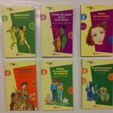 Libros de segunda mano: LOTE DE 6 LIBROS DE LECTURA - NUEVOS- EDITORIAL BRUÑO - COLECCIÓN ALTAMAR - LIBRO DE BOLSILLO. Lote 54336282