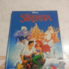 Libros de segunda mano: LA SIRENITA - DISNEY - PELICULAS CLASICAS. Lote 54374665
