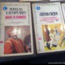 Libros de segunda mano: NOVELAS EJEMPLARES BRUGUERA. Lote 54377530
