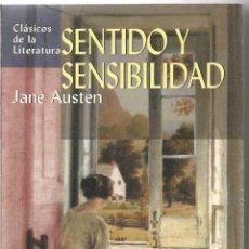 Libros de segunda mano: JANE AUSTEN. SENTIDO Y SENSIBILIDAD. EDIMAT. Lote 54398820