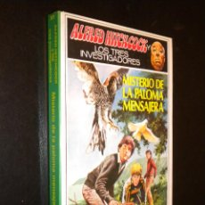 Libros de segunda mano: MISTERIO DE LA PALOMA MENSAJERA /NUM 37 LOS TRES INVESTIGADORES / ALFRED HITCHCOCK. Lote 54399210