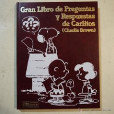 Libros de segunda mano: GRAN LIBRO DE PREGUNTAS Y RESPUESTAS DE CARLITOS TOMO 4 - EDICIONES JUNIOR - GRUPO EDITORIAL GRIJALB. Lote 54399863