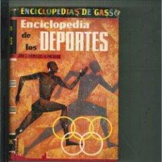 Libros de segunda mano: ENCICLOPEDIA DE LOS DEPORTES. JOSÉ L. LASPLAZAS Y A. MALUQUER. Lote 54403672