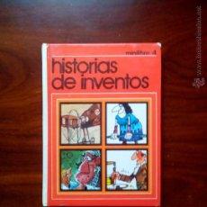 Libros de segunda mano: HISTORIAS DE INVENTOS, N° 4, EDITOR. J.M. LLORCA, ( ESCO ). Lote 54445618