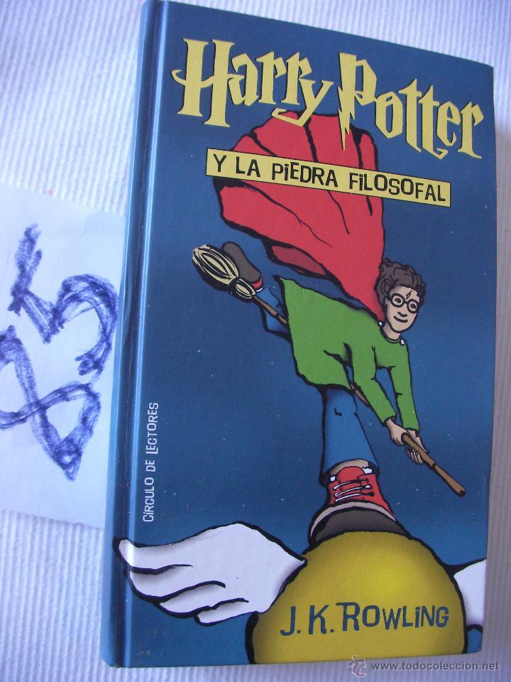 HARRY POTTER Y LA PIEDRA FILOSOFAL - ROWLING (Libros de Segunda Mano - Literatura Infantil y Juvenil - Otros)