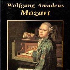 Libros de segunda mano: WOLFGANG AMADEUS MOZART. GRANDES BIOGRAFIAS EDICIONES RUEDA. Lote 54453311