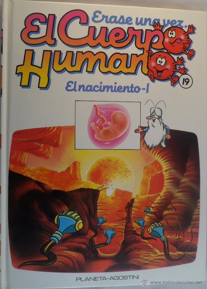 ÉRASE UNA VEZ EL CUERPO HUMANO. Nº 19. EL NACIMIENTO 1 (Libros de Segunda Mano - Literatura Infantil y Juvenil - Otros)