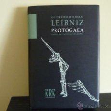 Libros de segunda mano: PROTOGAEA.- G W LEIBNIZ / KRK EDIC. ILUSTRADO TAPA DURA. Lote 54492000