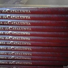 Libros de segunda mano: HISTÒRIA DE CATALUNYA - SALVAT - 12 VOLUMS. Lote 54493574