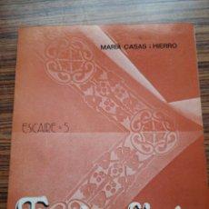 Libros de segunda mano: TARRAGONA - ESGRAFIATS - MARIÀ CASAS I HIERRO - ESCAIRE .5 - MUY BUENAS FOTOS - VER FOTOS. Lote 54514918
