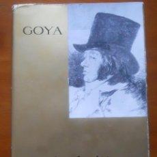 Libros de segunda mano: GOYA LOS AGUAFUERTES. Lote 54514992