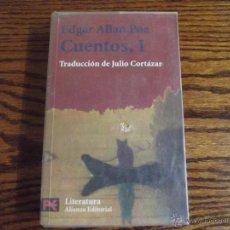 Libros de segunda mano: CUENTOS I, EDGAR ALLAN POE. Lote 54538100