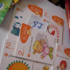 Libros de segunda mano: GRAN LOTE 6 TOMOS - EDUCACION INFANTIL - AL AGUA PULPO. Lote 54545110