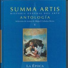 Livres d'occasion: SUMMA ARTIS - LA EPOCA DEL RENACIMIENTO EN EUROPA V. Lote 54562873