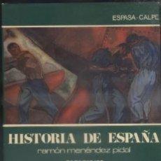 Libros de segunda mano: Hª ESPAÑA, TOMO XXXVII. LOS COMIENZOS DEL SIGLO XX. MENÉNDEZ PIDAL, R. A-HE-744. Lote 54563114
