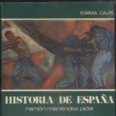 Libros de segunda mano: Hª ESPAÑA, TOMO XXXVII. LOS COMIENZOS DEL SIGLO XX. MENÉNDEZ PIDAL, R. A-HE-745. Lote 54563200