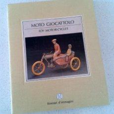 Libros de segunda mano: MOTOS DE JUGUETES - ITINERARI D'IMMAGINI. Lote 54571576