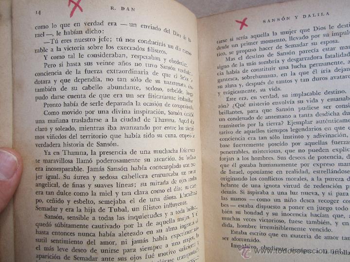 Libros de segunda mano: coleccion robinsones n. 2 , sanson y dalila , R. Dan , 1953 - Foto 4 - 105137280