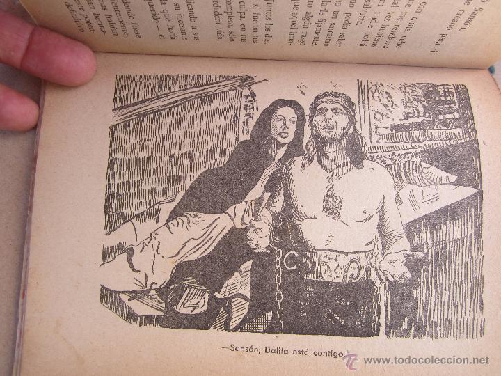 Libros de segunda mano: coleccion robinsones n. 2 , sanson y dalila , R. Dan , 1953 - Foto 7 - 105137280