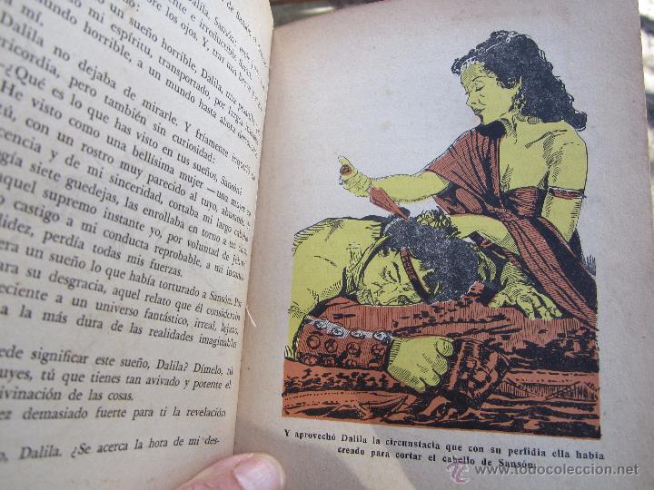 Libros de segunda mano: coleccion robinsones n. 2 , sanson y dalila , R. Dan , 1953 - Foto 8 - 105137280
