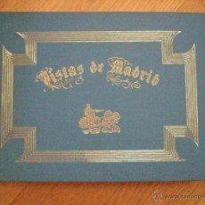 Libros de segunda mano: VISTAS DE MADRID. 28 LITOGRAFÍAS Y GRABADOS DE PINTORES ROMÁNTICOS. 1990. ARTESANAL. Lote 54640041